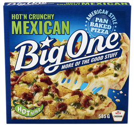 PIZZA BIG ONE MEXICAN 585G