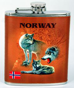 Norges Kolleksjon, lommelerke, 3 Ulver