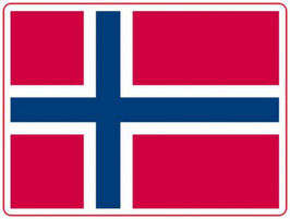 MAGNET NORGE FLAGG