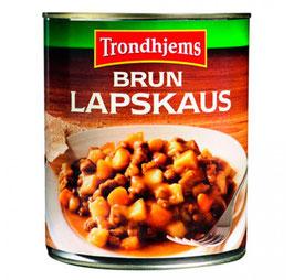 LAPSKAUS Brun TRONDHEIMS