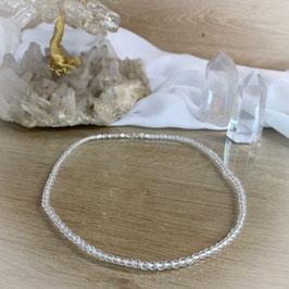 Bergkristall Kette 4mm