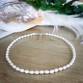 Süßwasser-Perlen Kette SW1