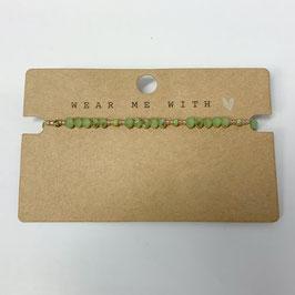 Armband Seed Beads Grün