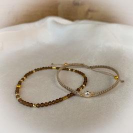 Armband geknüpft, Edelsteinarmband Jade