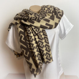 Warmer XL  Schal  in beige SH30012