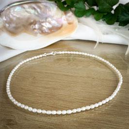 Süßwasser-Perlen Kette SW3