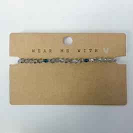 Armband Beaded Blau