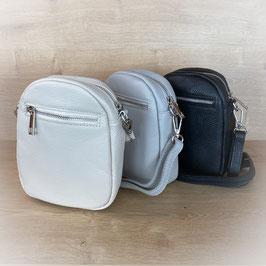 Echt Leder - kleine Tasche im Hochformat -  LT201032