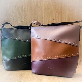 Handtasche mit Nieten T201001