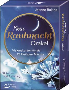 Mein Rauhnacht Orakel - Visionskarten für die 12 Heiligen Nächte - Jeanne Ruland