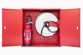 Feuerlöschposten ORION 71 mit Platz für Feuerlöscher