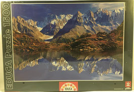 PUZZLE  Chamonix,Mont,Blanc Franca EDUCA