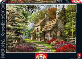 PUZZLE Casa de las flores | EDUCA