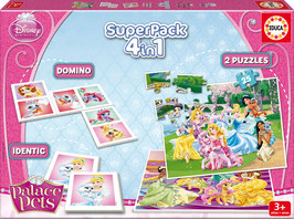 Superpack 4en1 de las Princesas Disney | EDUCA