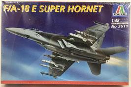 FIA-18 E SUPER HORNET  (italeri)