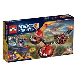 Carro del Caos del Maestro de las Bestias (Lego Nexo Knights)
