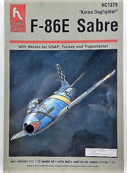 F-86E  SABRE   (habby-craft)