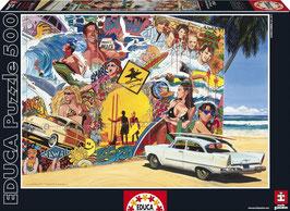 PUZZLE Mural de Surf  |  EDUCA