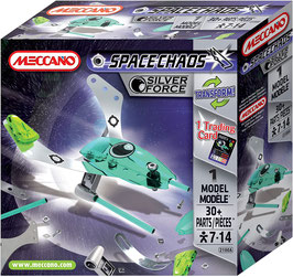 Meccano Spacechaos Silver Force