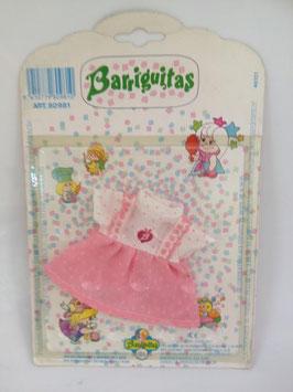 Vestidos de Barriguitas rosa  (  DESCATALOGADO  )