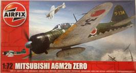 MUTSUBISHI  A6M2B  ZERO  (airfix)