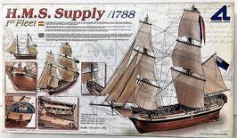 H.M.S. Supply ( Barco de Madera de Artesanía Latina)
