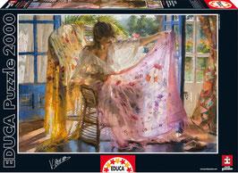 PUZZLE  Mantón rosa | EDUCA