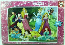 PUZZLE  Princesas Disney EDUCA
