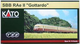 """SBB RAe II """" GOTTARDO """" 6-tlg-Set  de KATO"""