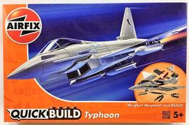 QUICK-BUILD  TYPHOON  (airfix)  (Lego Kit)