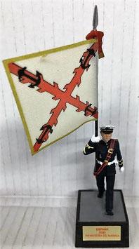 Soldado Infantería Marina Azul Cruz de S. Andresl (Abanderado)