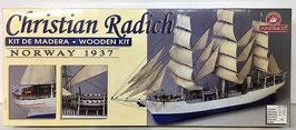 Christian Radich (Barco de Madera de Constructo)