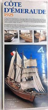 Côte D'emeraude (Barco de Madera de Artesanía Latina)