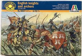 ENGLISH KNIGHTS AND ARCHERS  (italeri)