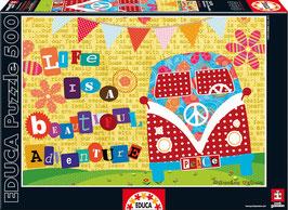 PUZZLE Life is a Beautiful ADVENTURE | EDUCA