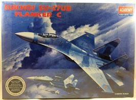 SUKHOI SU-27UB FLNKER C  (academy)