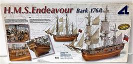 H.M.S.Endeavour (Barco de Madera de Artesania Iatina)