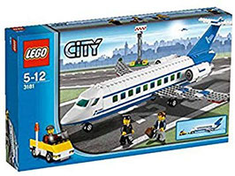 Avión Pasajeros (Lego city)