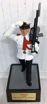 Soldado Infantería de Marina Blanco (Gastador con Pala)