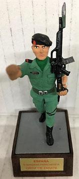 Soldado Bandera Paracaidista Ortiz de Zarate (Desfilando)