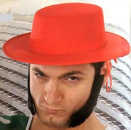 Sombrero Cordobés Fieltro Rojo (guirca)