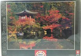 PUZZLE  Templo Kioto Japón EDUCA
