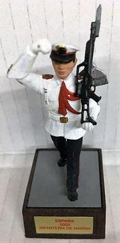 Soldado Infantería Marina Blanco (Gastador con hacha)