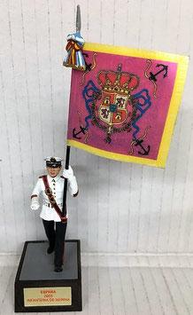 Soldado Infantería Marina Blanco (Abanderado)
