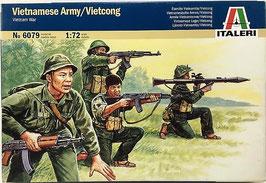 VIETNAMESE ARMY/VIETCONG  (italeri)