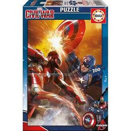Puzzle Capitan America     EDUCA