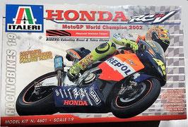 Maqueta Honda RCV GP World Champion 2002 (Italeri