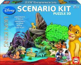 scenario - kit  3D  el rey león  | educa