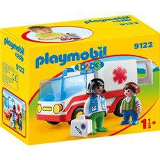 Playmobil 1.2.3 Ambulancia