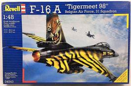 """F-16 A  """"TIGERMEET 98"""" (revell)"""